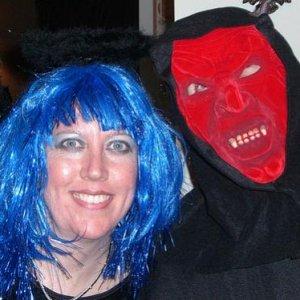 Halloween 07 Sue Angel and Charlie Devil