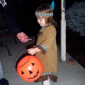 My 3 year old Trick or Treating
