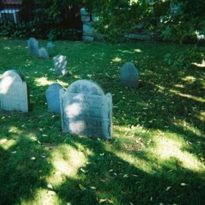 Graveyard in Salem Mass.