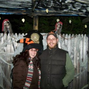 Emmons Island Haunted Trail.