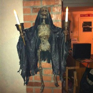 reaper wall sconces