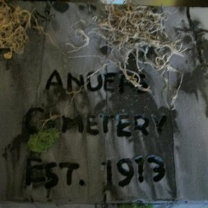 Anders Cemetery plaque