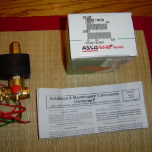 Asco Red-Hat valve for trade