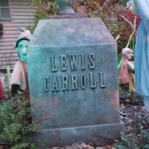 Lewis Carrol, the author of Alice in Wonderland